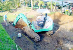 Inground Swimming Pool Construction Process Freedom