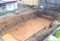 Inground Swimming Pool Construction Process Freedom Pools Sydney And Central Coast